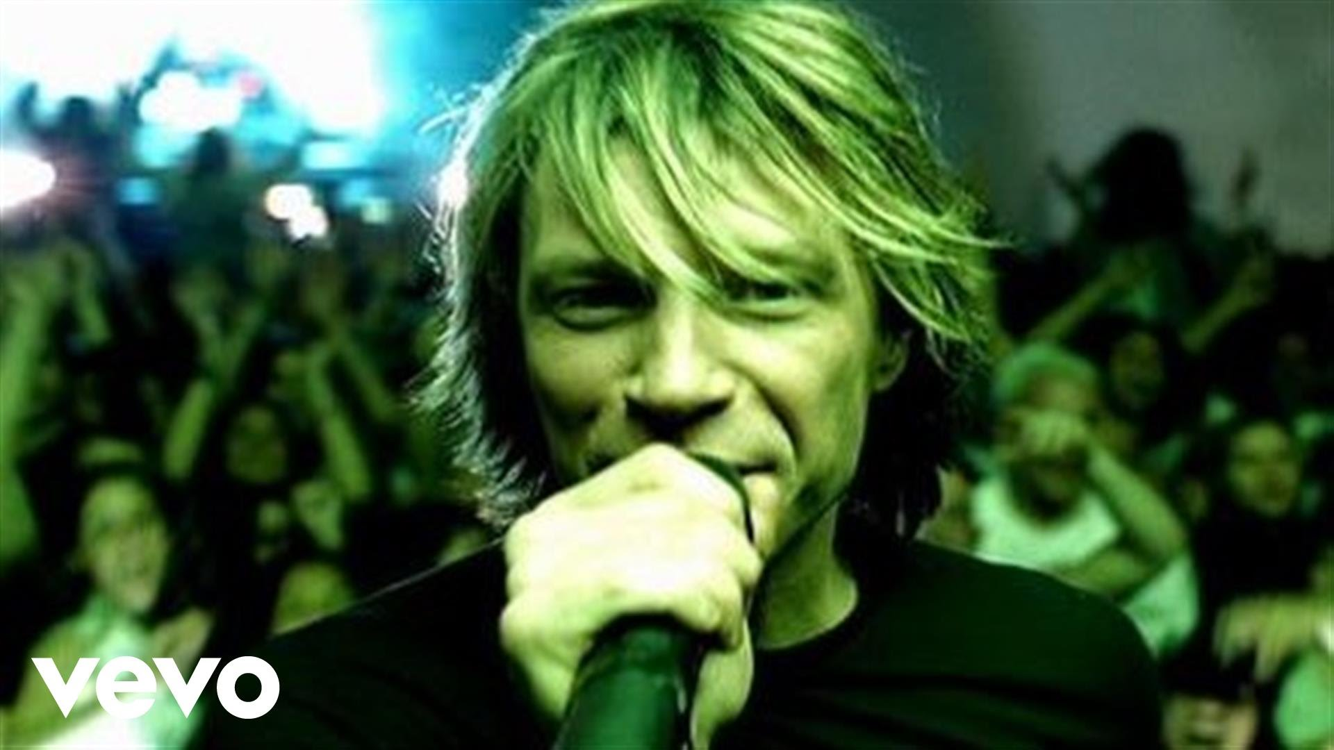 Bon Jovi – Its My Life – I Just Want To Live While Im Alive – Music Video