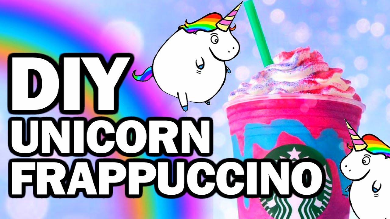 DIY Unicorn Frappuccino, Corinne VS Starbucks