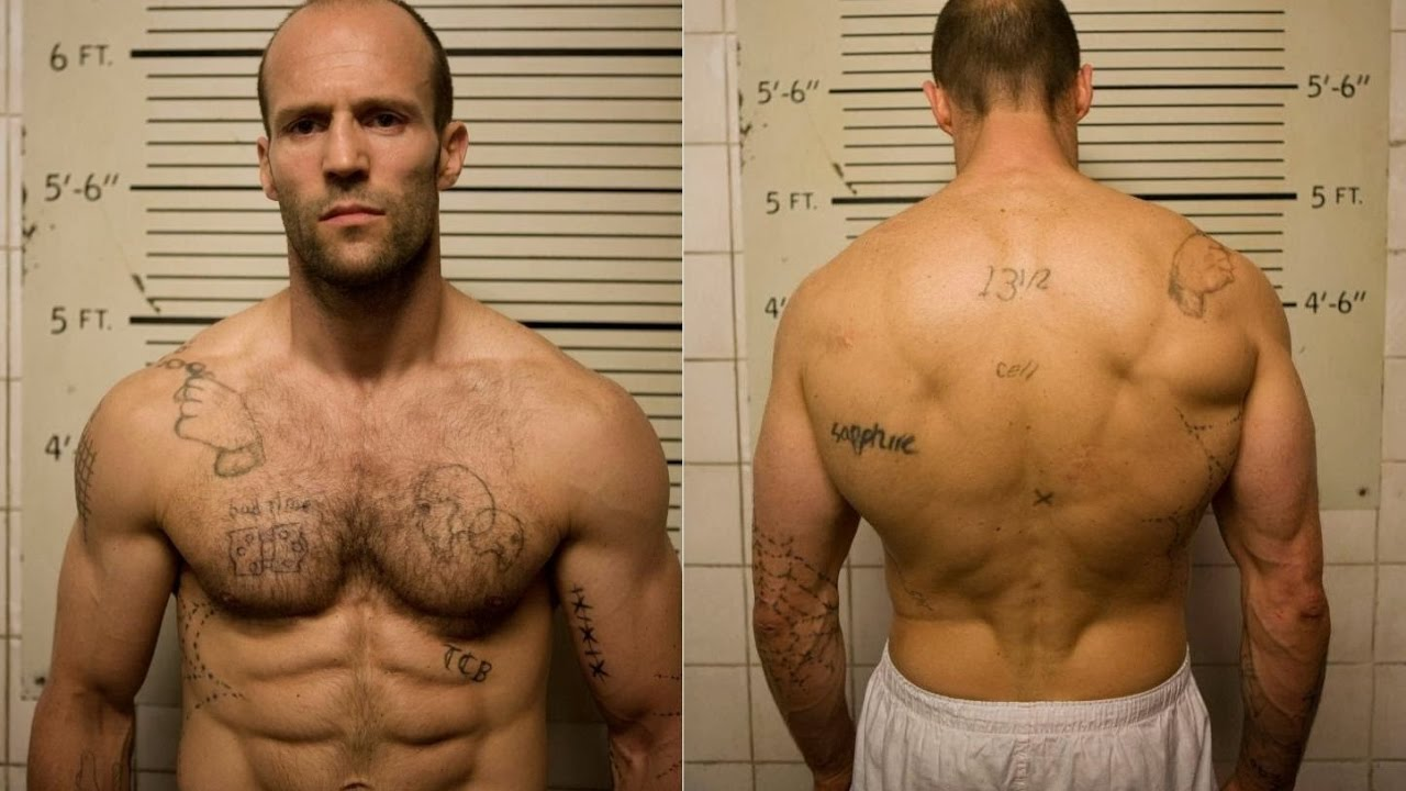 Jason Statham 22 Push Up Challenge