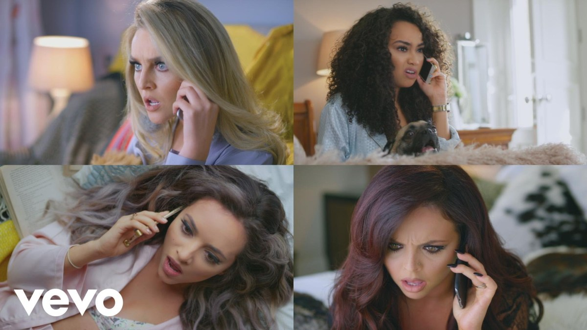 Little Mix - Hair ft. Sean Paul - Music Video