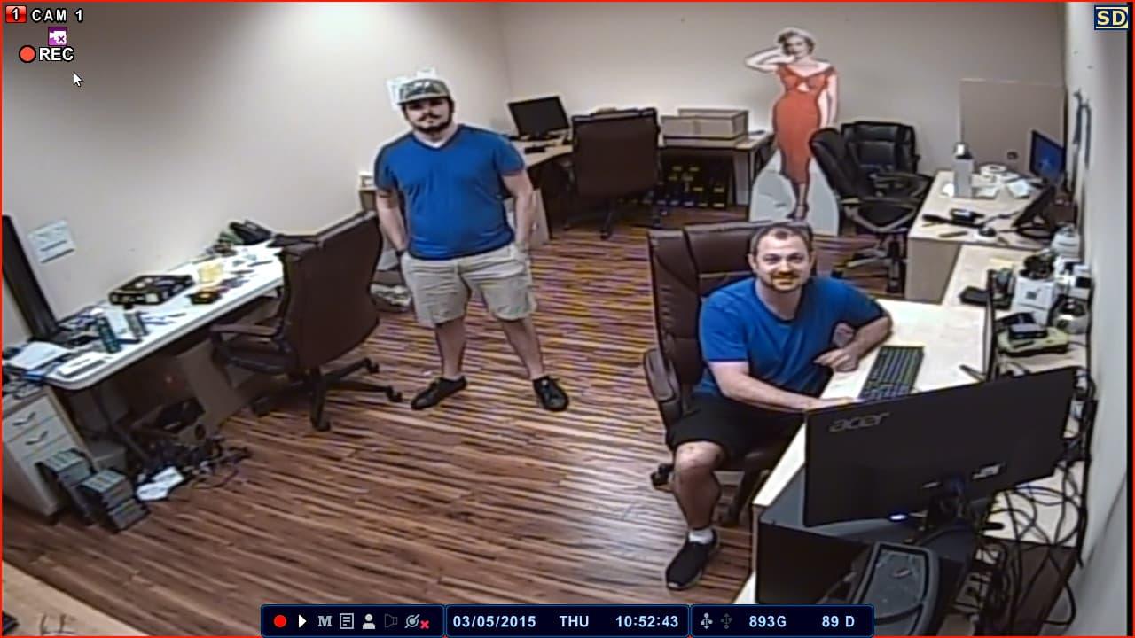 Analog CCTV Camera Image