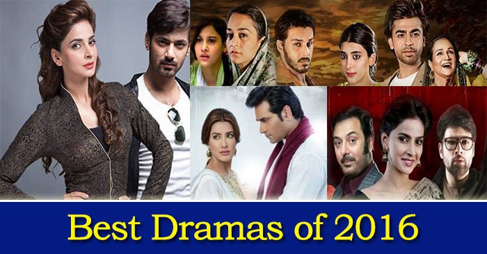 Best Pakistani Dramas List of 2016
