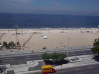 Swim-run at Copacabana Beach Rio de Janeiro, March 2010