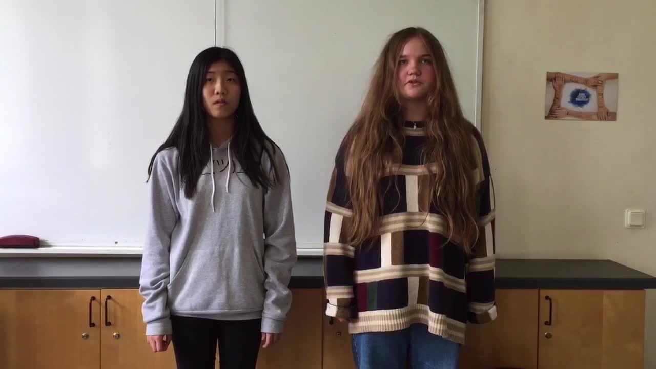 Slam poem by Malva and Felicia