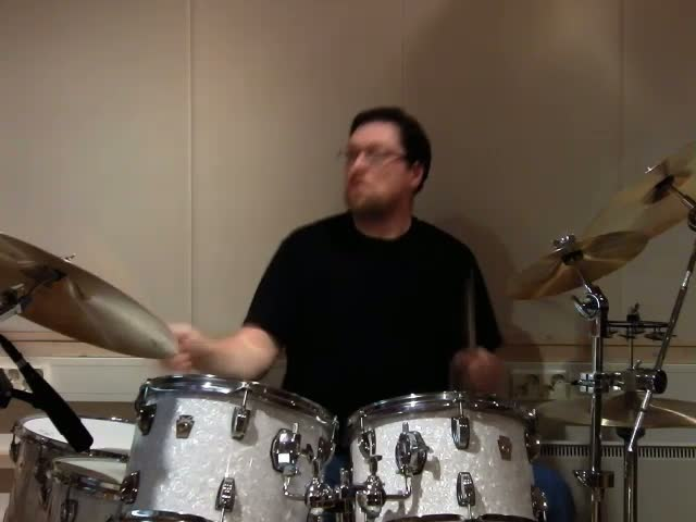 Martin Berka on drums