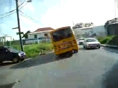 Minibus hustle and bustle video