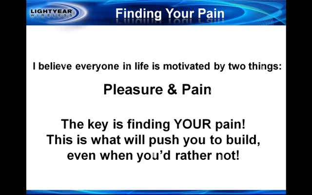 Finding Your Pain