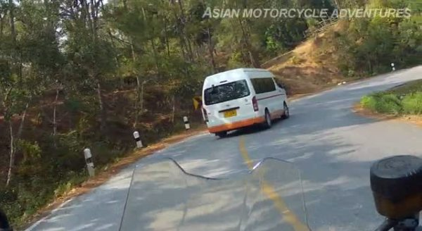 The Mae Hong Son Loop - 2nd Riding Segment: From the Mea Hong Son Provincial Border to Pai