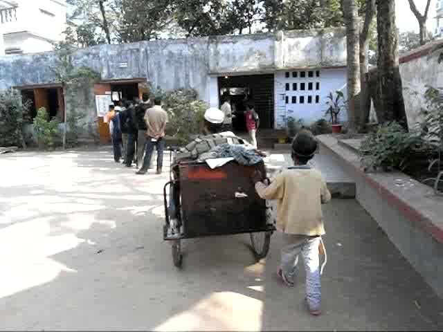 Dadon Mia votes for the first time. Shahidul Alam/Drik/Majority