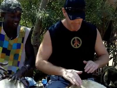 Senegalese Drumming
