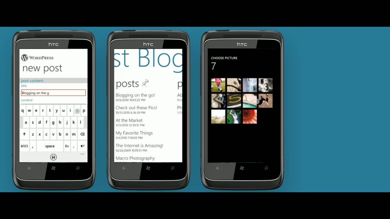 Introducing WordPress for Windows Phone 7