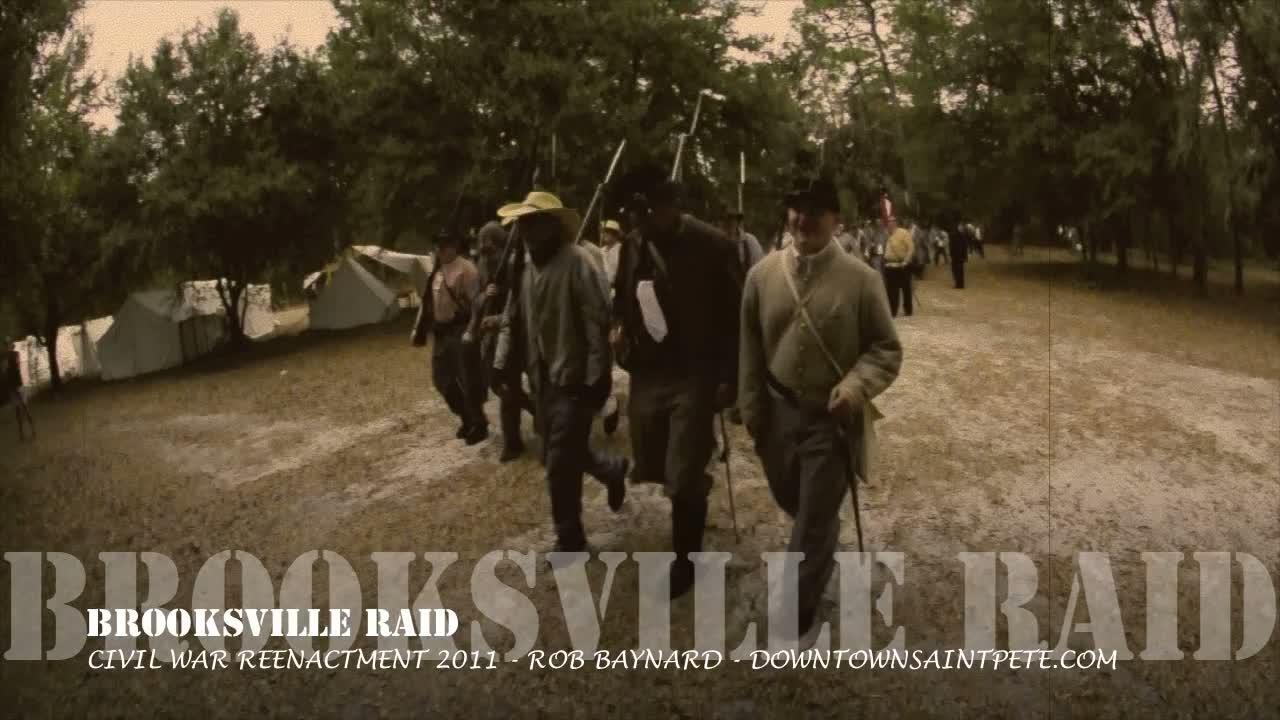Brooksville_Raid-aged_film