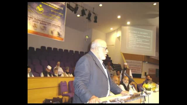 Kamal el-Helbawy – UKIM Annual Conference 2005