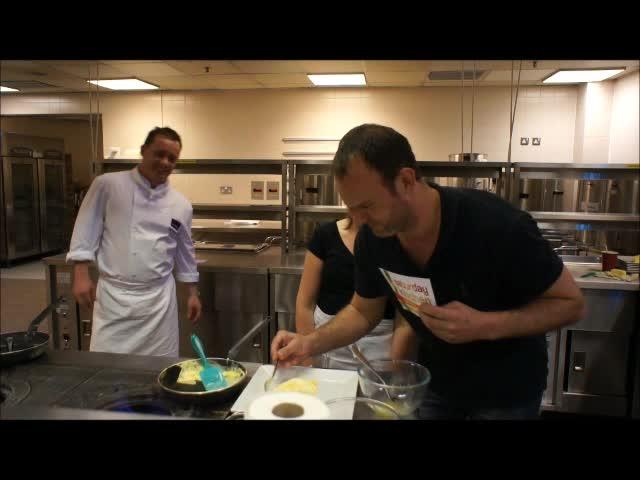 Jo Cooks Saturday Kitchen Omelette Challenge