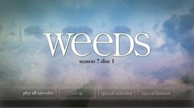 Weeds Season 7 menus