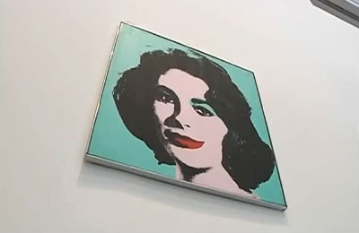 Warhol's Liz Taylor to Sell at Auction
