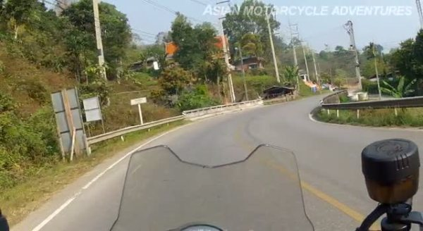 The Mae Hong Son Loop - 1st Riding Segment: Mae Malai to the Border of Mae Hong Son Province