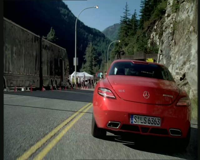 Michael Schumacher e o SLS