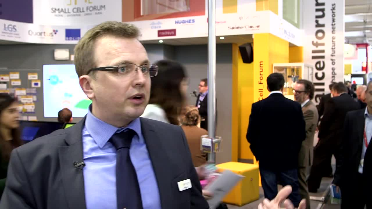 Video Interview with Alan Law, Chairman, Small Cell Forum