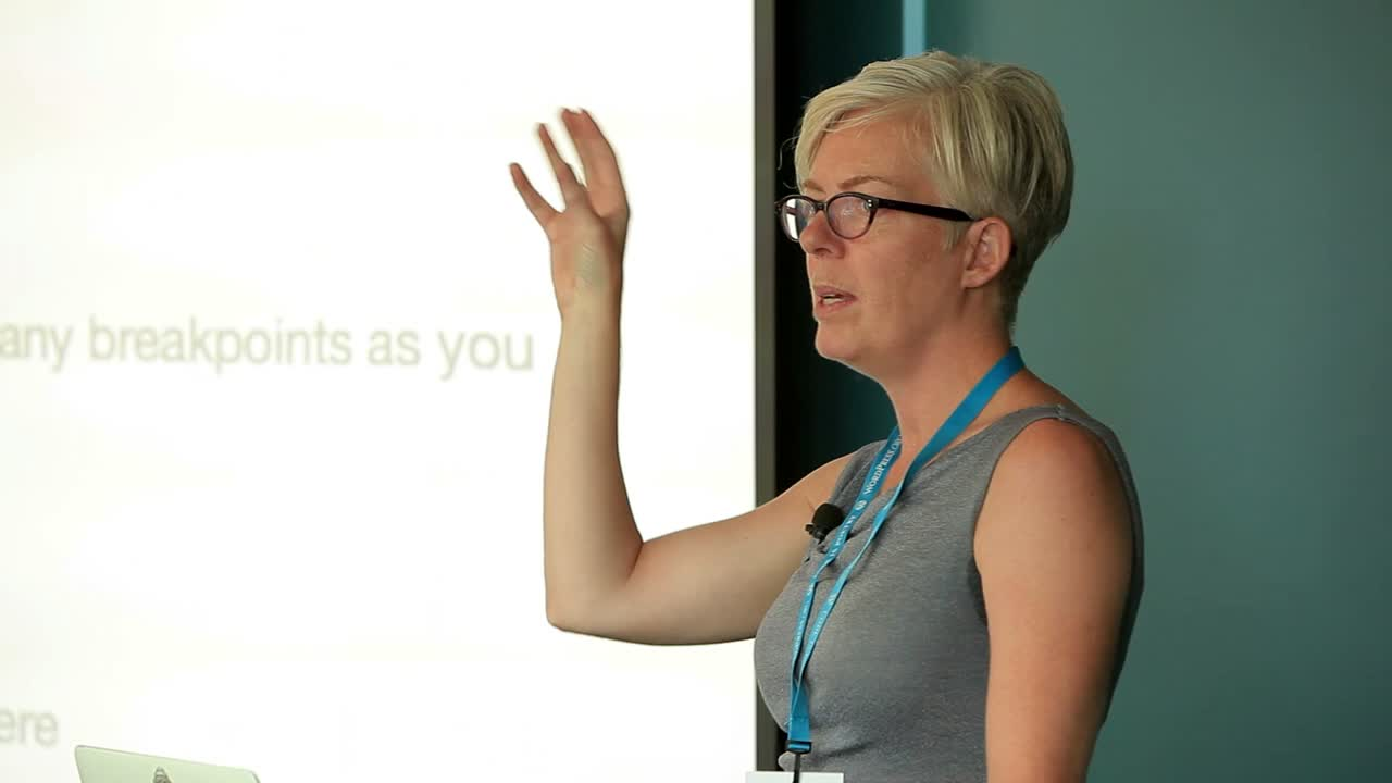 Christine Rondeau: Responsive web development made easy with CSS and the mobile plugin