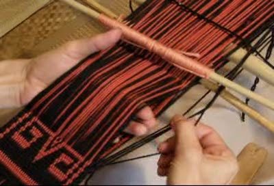One-weft Double Weave Part 1