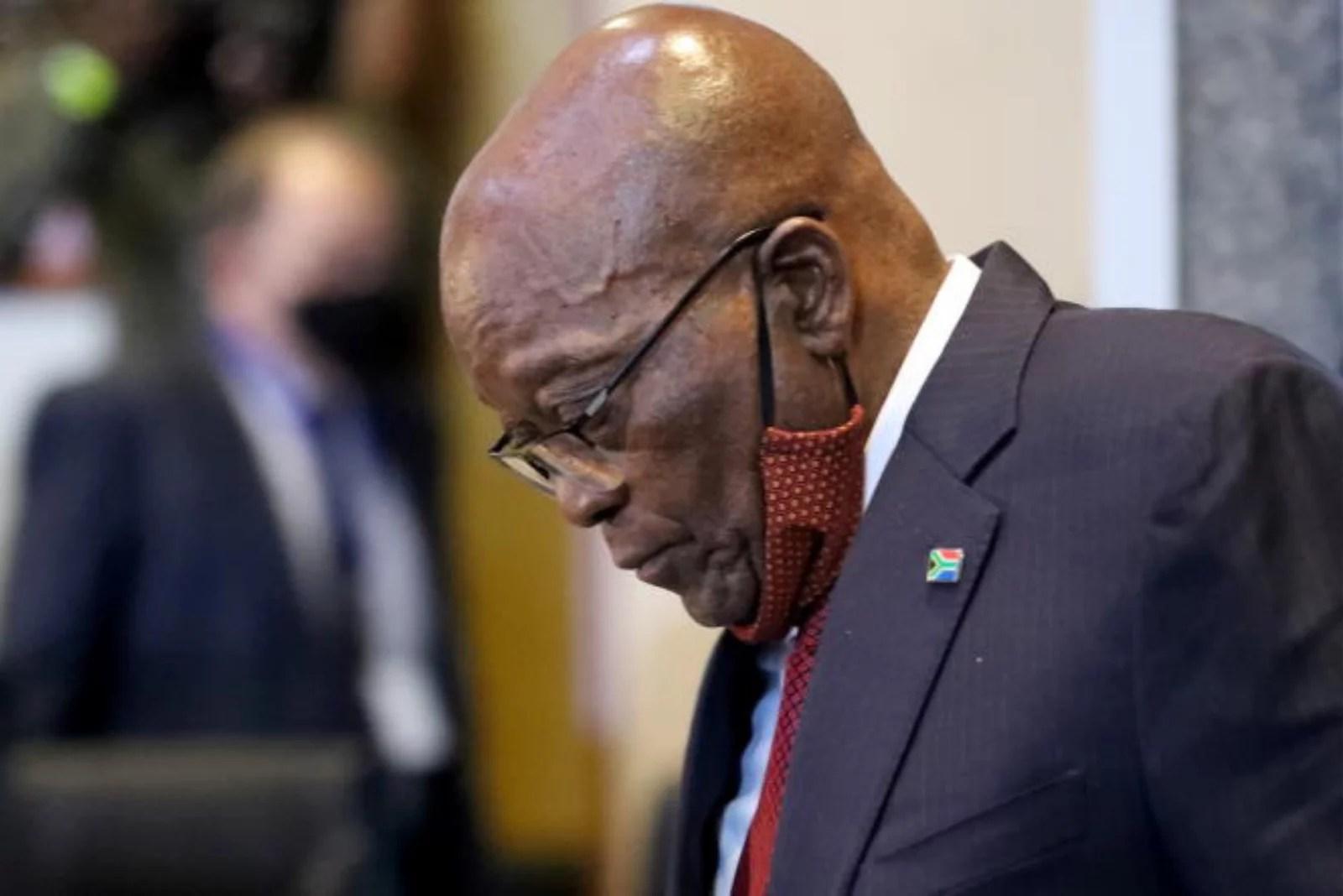 Urgent: Jacob Zuma Condamné à 15 mois de Prison ferme