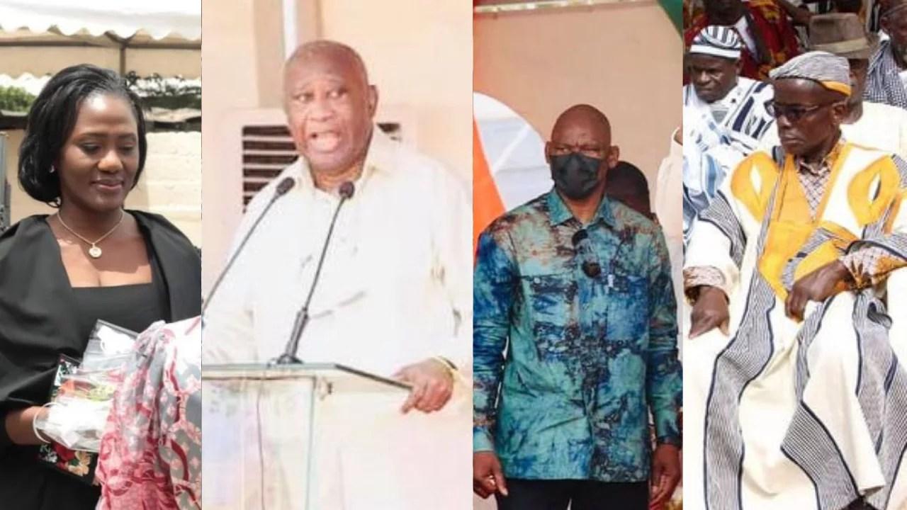 Le peuple Wê à Nady Bamba: «C'est grâce à toi que Gbagbo est auprès de nous en pleine forme»