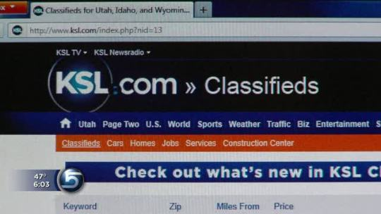 Using classifieds  man scams potential buyers with car ad   KSL com Using classifieds  man scams potential buyers with car ad