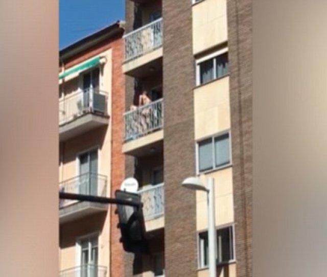 Couple Caught Having Sex On Balcony Https Metro Co Uk Video Couple Caught Having Sex Balcony