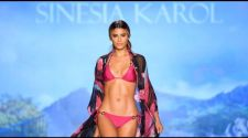 Sinesia Karol Runway Show at Swim Week Paraiso Miami Beach
