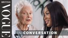 Naomi Campbell Meets Vivienne Westwood  | British Vogue