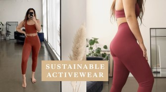 my sustainable & ethical activewear (organic basics and girlfriend) | inspiroue
