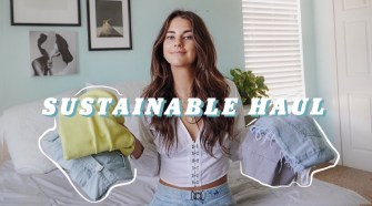 sustainable try on haul & small brands you *need* to know!