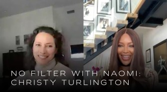 Christy Turlington Helps Celebrate Naomi'S 34 Years Of Modeling Anniversary   No Filter With Naomi