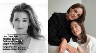 Live Q&Amp;A Skall Studio And Martina Bonnier, Vogue Scandinavia   Copenhagen Fashion Week