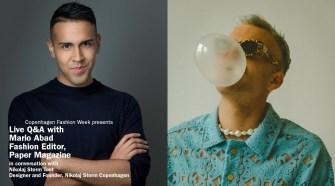 Live Q&Amp;A Nikolaj Storm Copenhagen And Mario Abad, Paper Magazine | Copenhagen Fashion Week