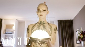 Grimes Gets Ready For The Met Gala   Vogue