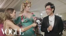 Eugene Lee Yang &Amp; Nikkie De Jager On Eugene'S Last Minute Look | Met Gala 2021 W/ Emma Chamberlain