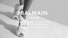 Balmain Spring Summer 22 Collection