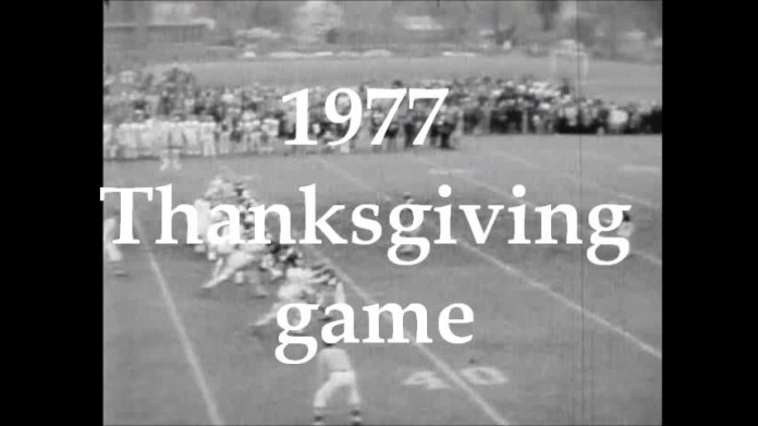 Thanksgiving 1977, Ansonia 18, Naugatuck 0