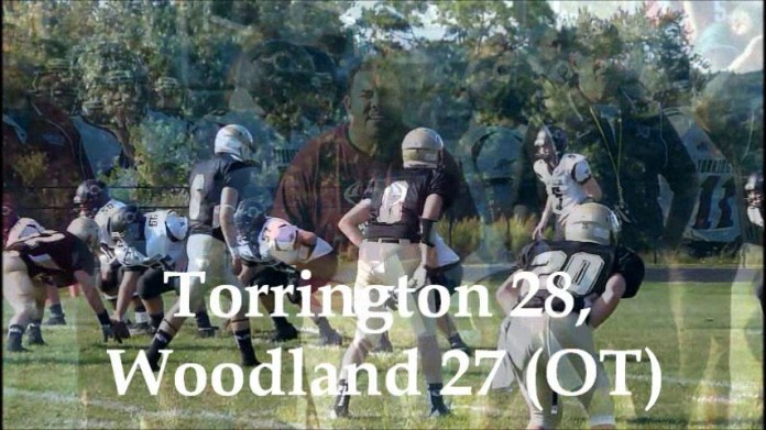 NVL football: Torrington 28, Woodland 27