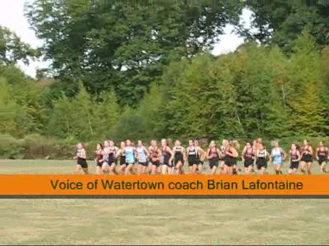 Watertown girls cross country