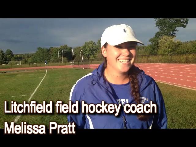 Litchfield field hockey coach after big win