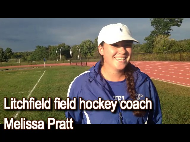 Litchfield field hockey coach after big win