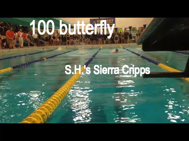 NVL swimming: 100 butterfly