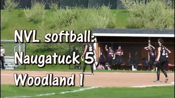 NVL softball: Naugatuck gets past Woodland