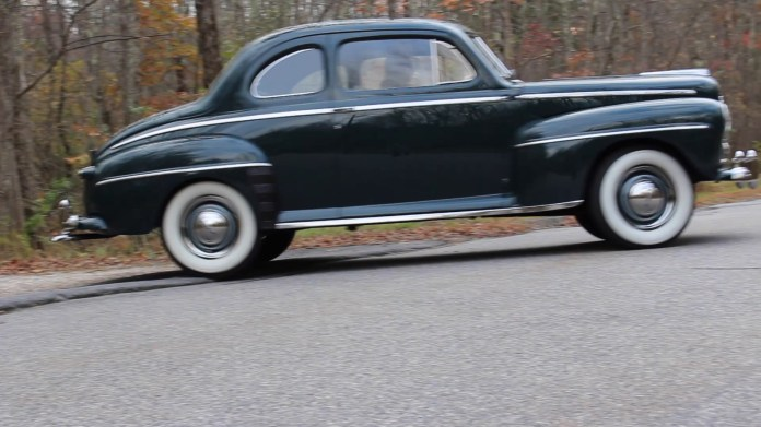 Jerry Restelli of Harwinton, CT owns a 1947 Ford Super Deluxe coupe that has 170,000 miles on the odometer and is still running strong after 70 years. He's owned it for nearly 58 years.