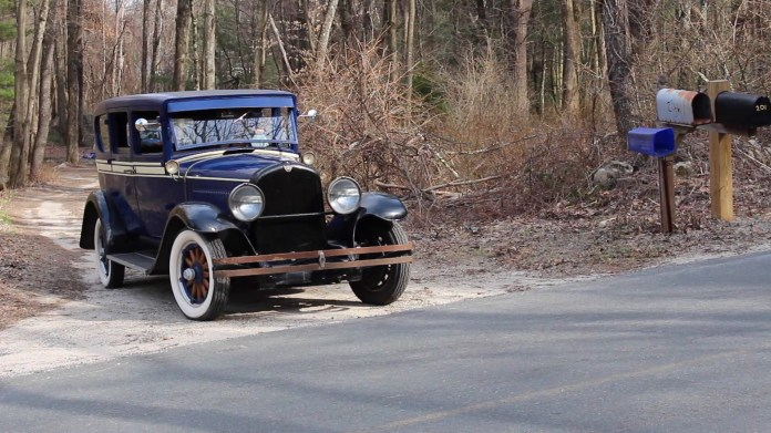 Bill Needham of New Hartford, CT owns a 1928 REO Flying Cloud that's a driver, not a show car. It has many period features and offers an impressively comfortable ride.