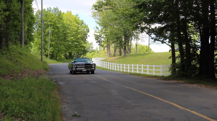 John Ciesco of Torrington has owned a 1964 Cadillac Convertible deVille since 2003 but he admired the car for decades before acquiring it. Except for a new top, it's all original and the ride is like floating on a feather.