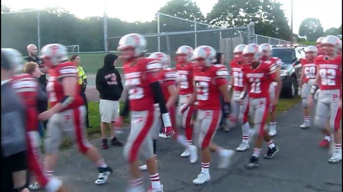 Pomperaug football looks to end on high note